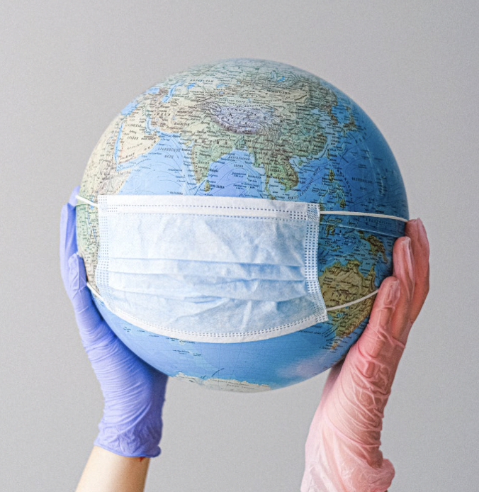 Globe with isolation mask