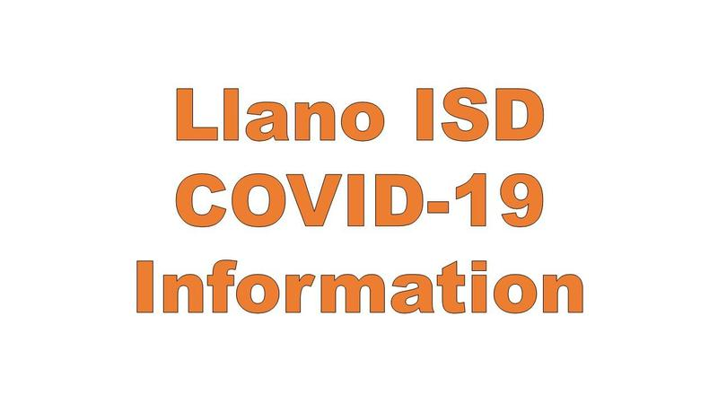 Llano ISD - COVID-19 Information Featured Photo