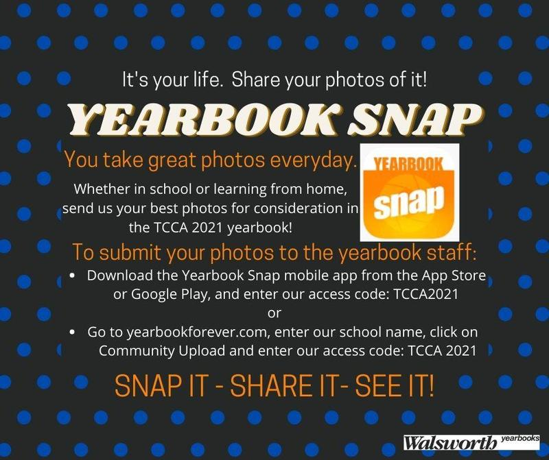 Submit your photos to the TCCA Yearbook!! Featured Photo