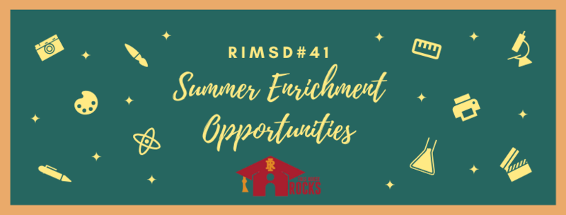 RIMSD#41 Offering Virtual Film Camp this Summer Featured Photo