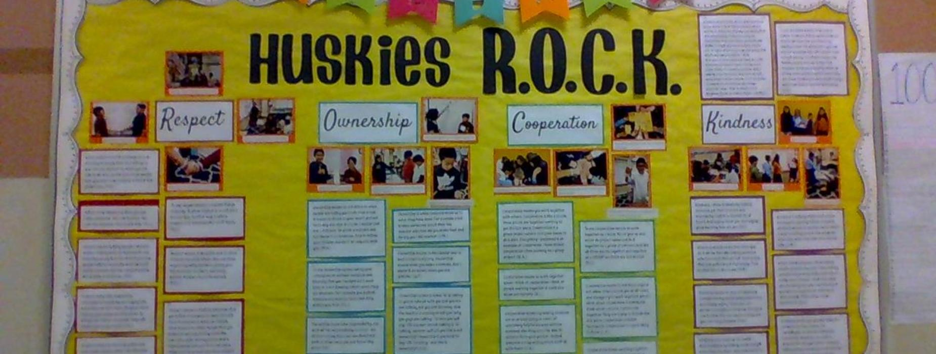 Huskies R.O.C.K