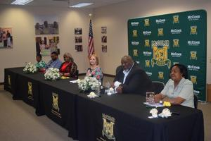 McComb School District Partners In Education (PIE) sponsors Retirement Tea