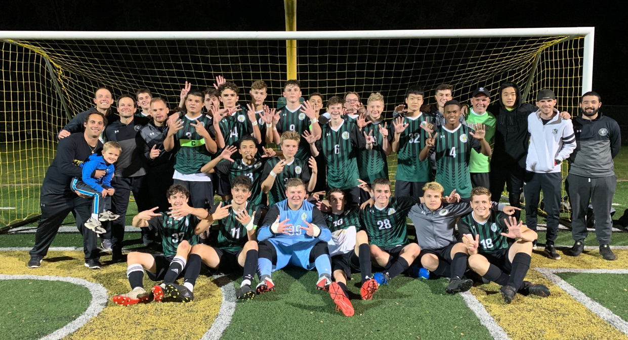 Boys Soccer Section Champions 2019