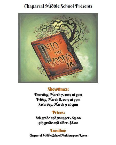 Into the Woods Jr. Flyer.JPG