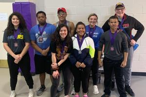 frenship powerlifting competing in dimmitt