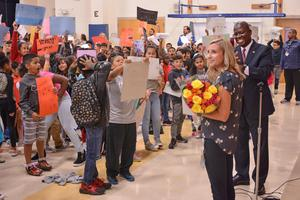 Principal Emily Miles of Sterling Elementary wins CMS Principal of the Year