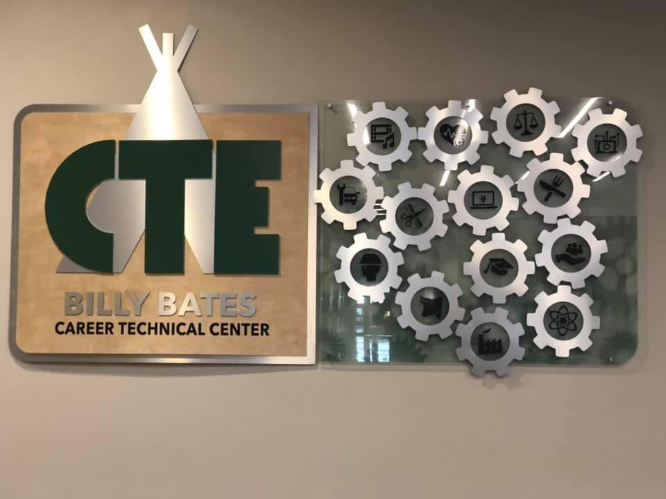 CTE wall display