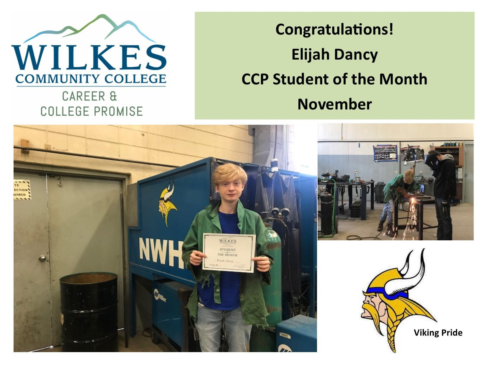 CCP Student of the Month