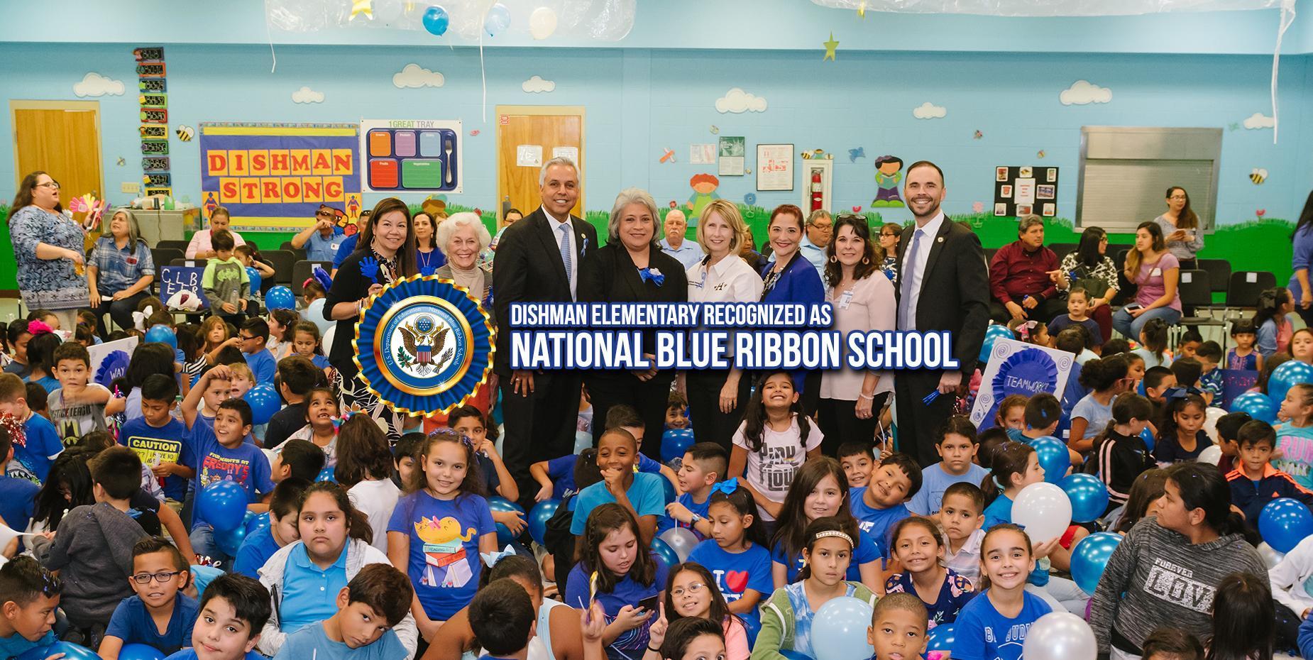 Dishman Elementary recognized as National Blue Ribbon School