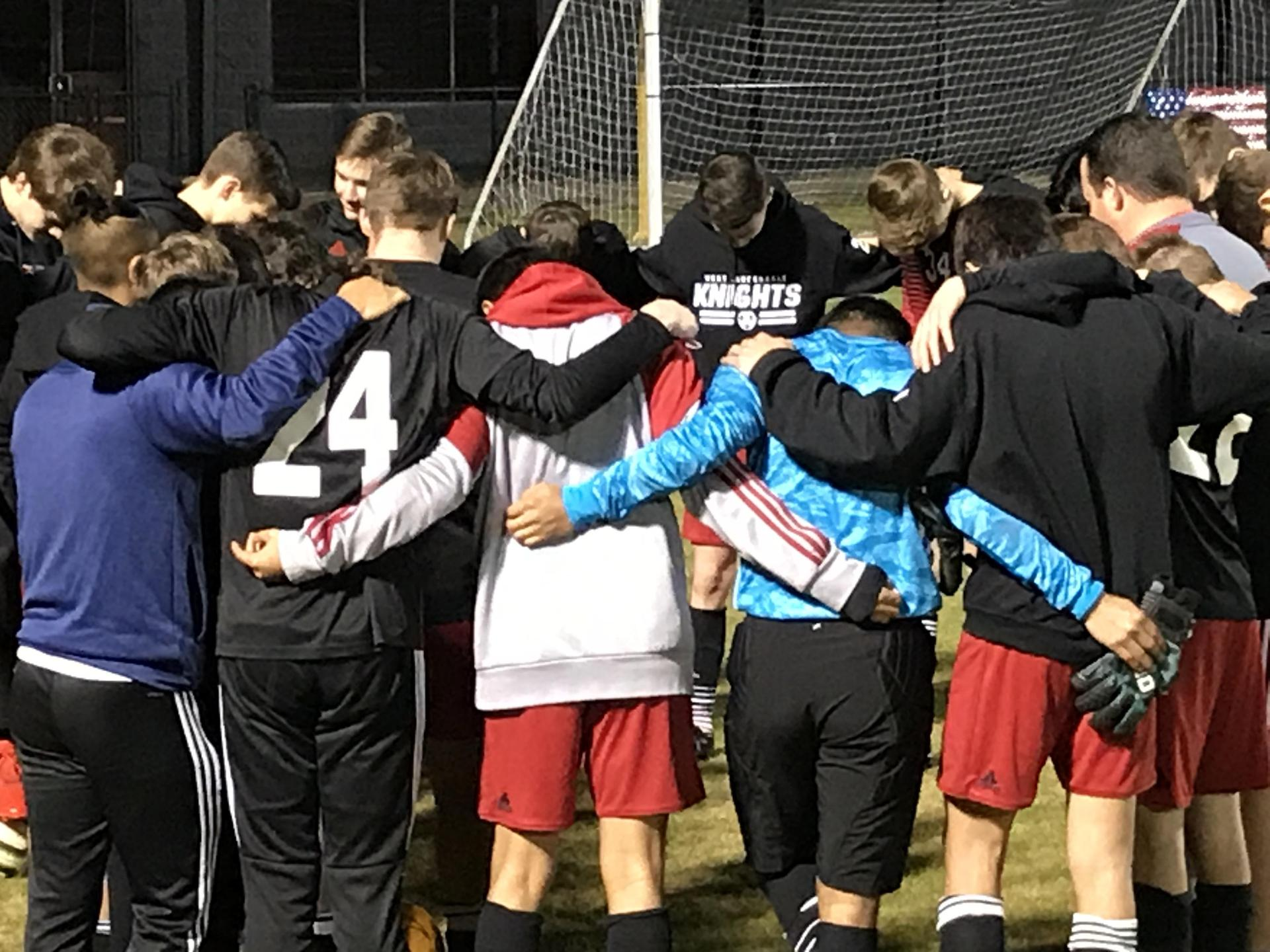 WLHS Boys Soccer Team