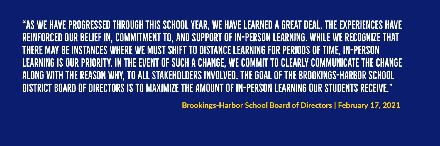 Board Statement