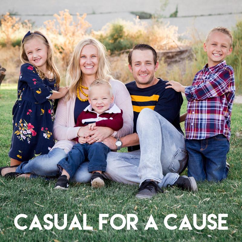 CASUAL FOR A CAUSE Featured Photo