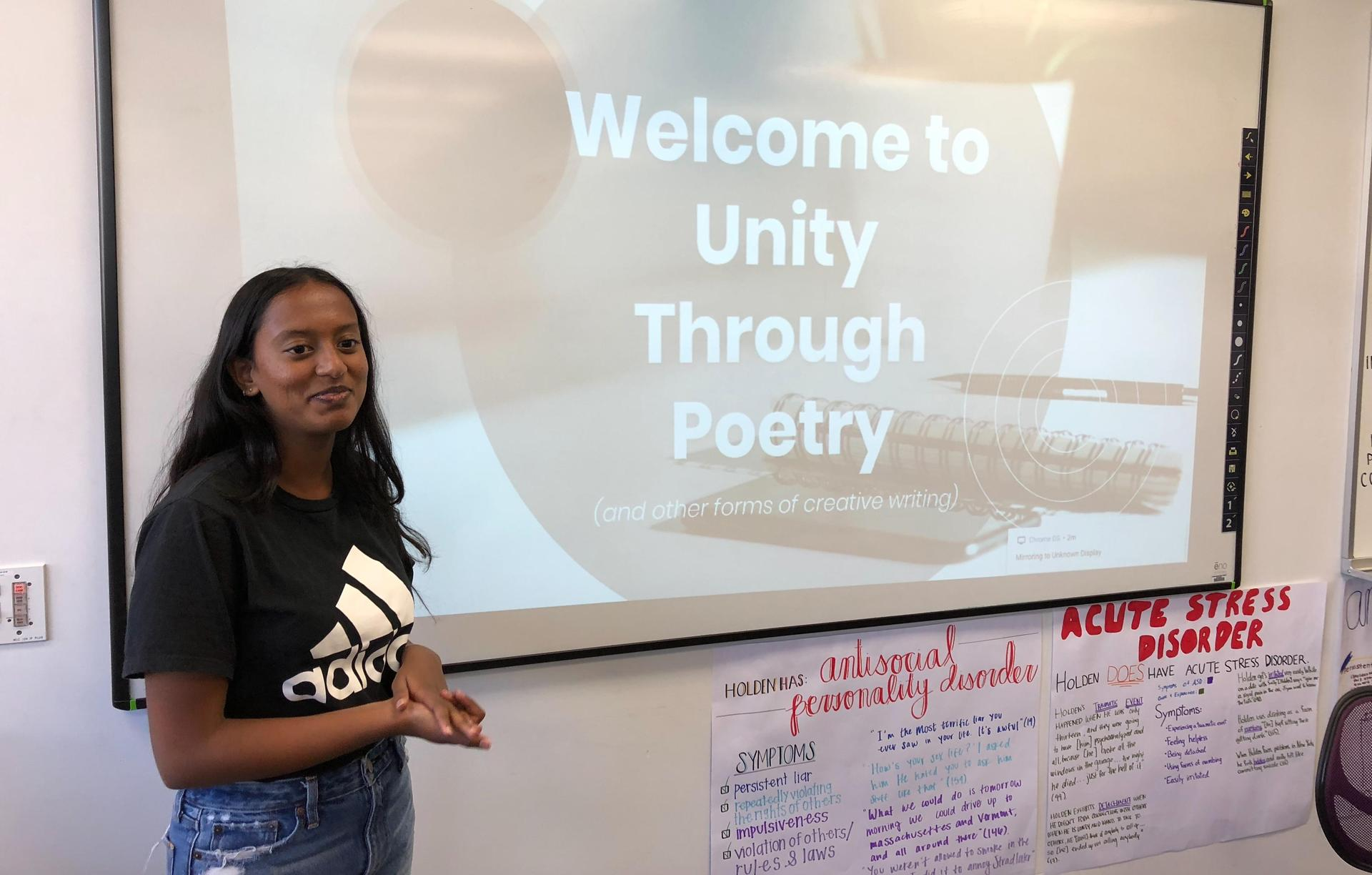 Arcadia High Unity Through Poetry Secretary