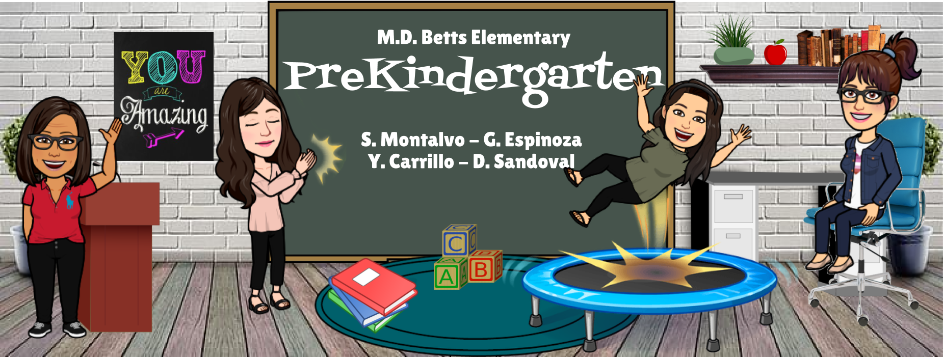 Image of Bitmoji Staff - PreKindergarten