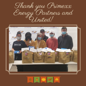 Primexx Energy and United Grocery make donation to PBTISD!