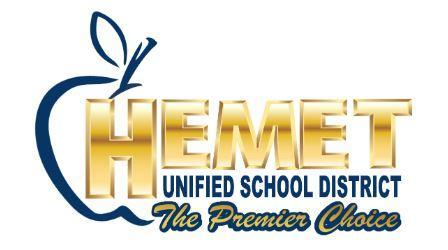 Hemet Unified School District's Premier logo
