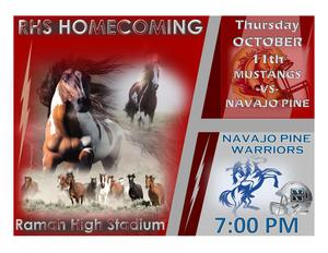 Ramah High Homecoming