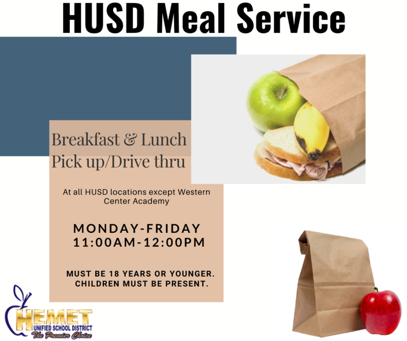 Lunch Served flyer