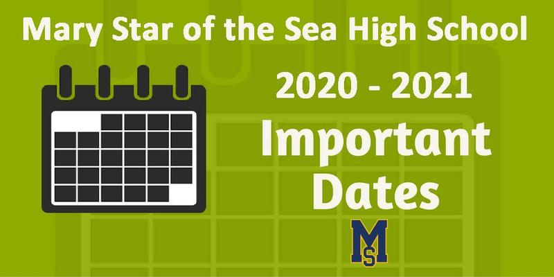 Important Dates for the 2020-2021 School Year (Updated) Featured Photo