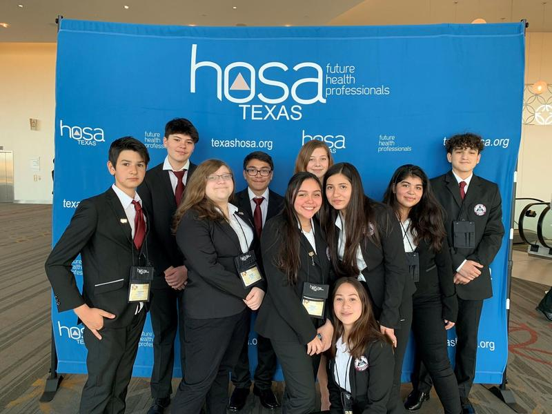 First ever Middle School HOSA students succeed at State HOSA Spring Leadership conference! NATIONAL QUALIFIERS! Featured Photo