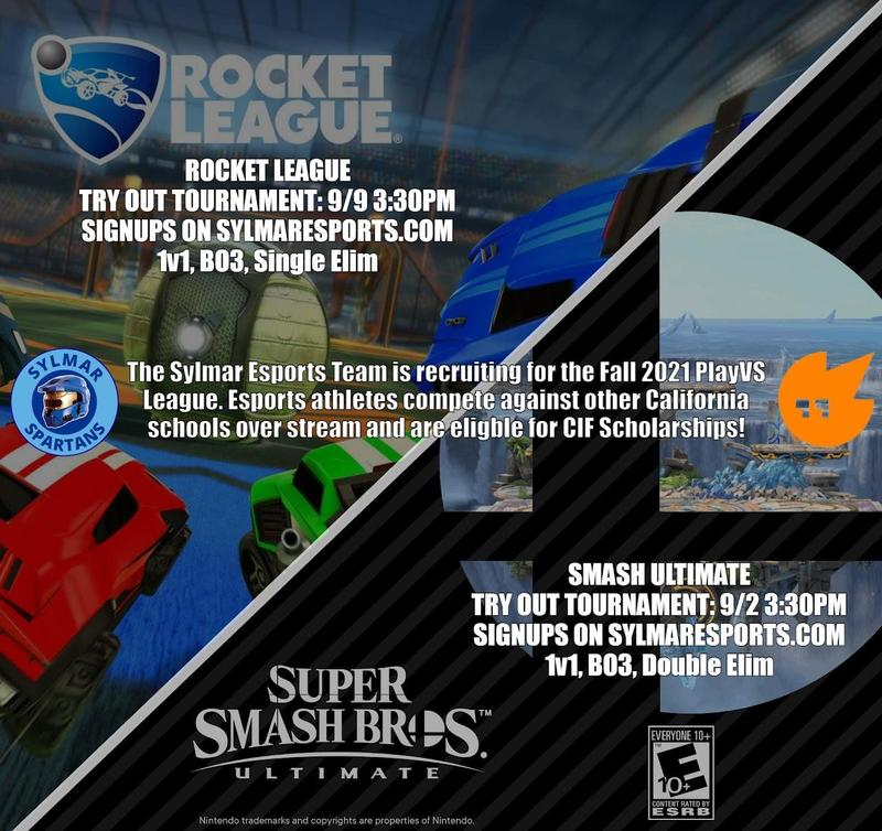 Sylmar Esports is recruiting for Fall 2021 teams! Featured Photo