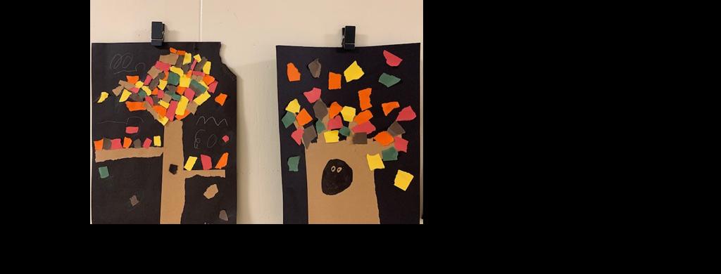 Laurel Elementary Fall Art