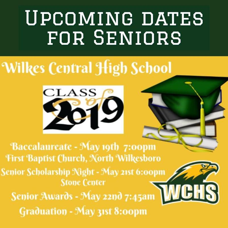 Upcoming Dates for Seniors Thumbnail Image