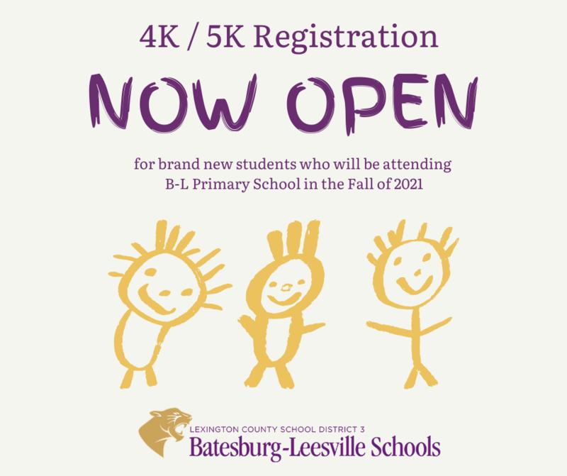 Registration Begins for Brand New 4K/5K Students