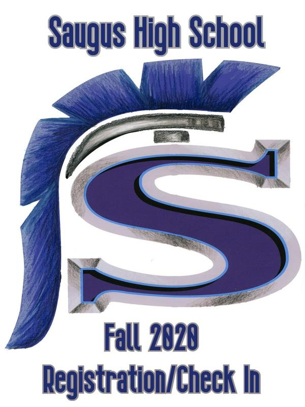 Saugus High School registration logo