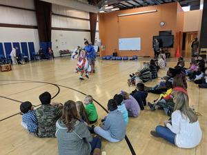 WTSD Choctaw Visit - image 1