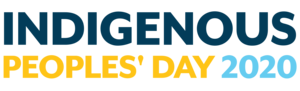 Indigenous Peoples' Day text image