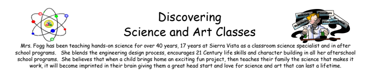 Discovering Science and Art