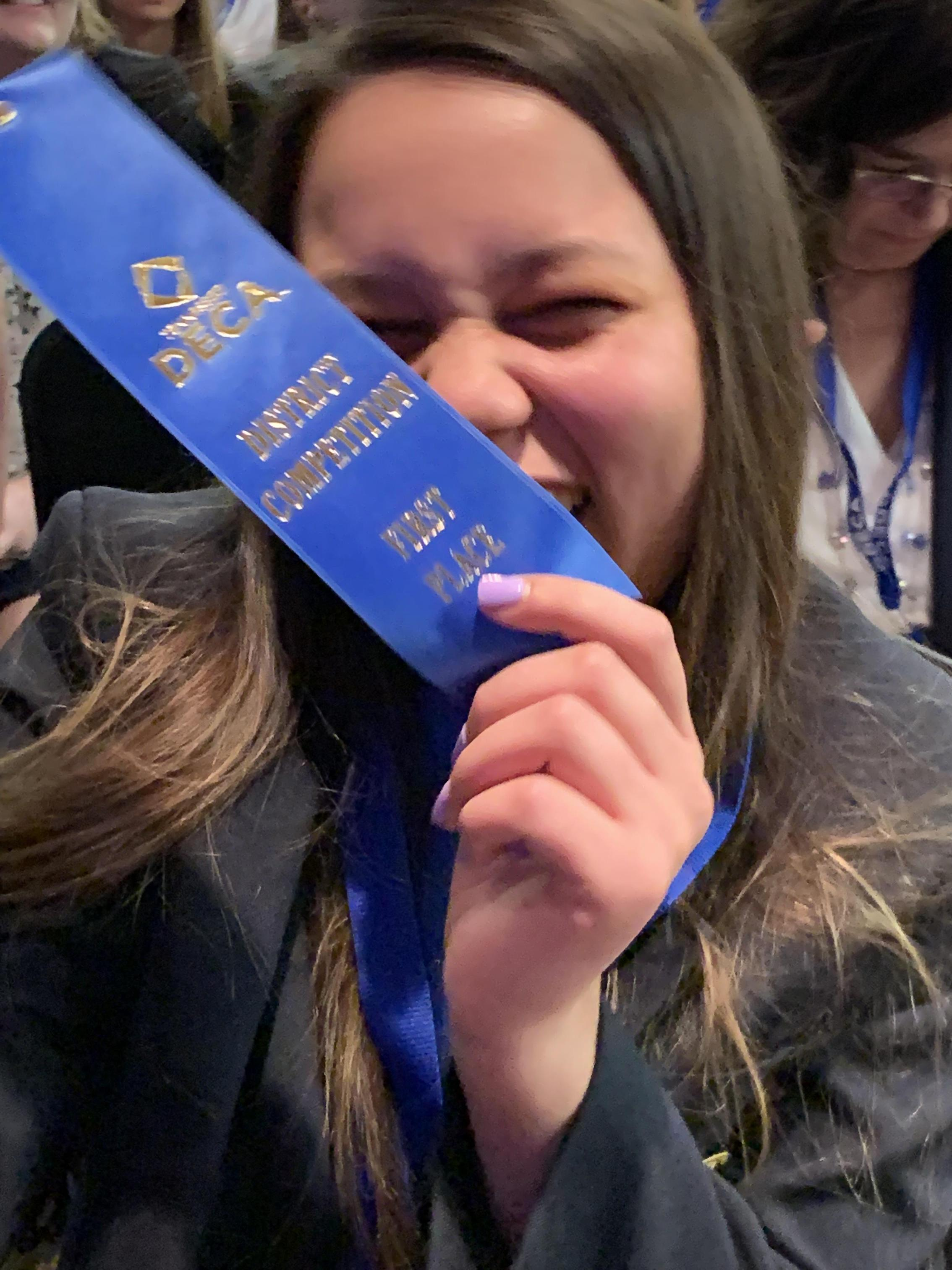 DECA District Winner