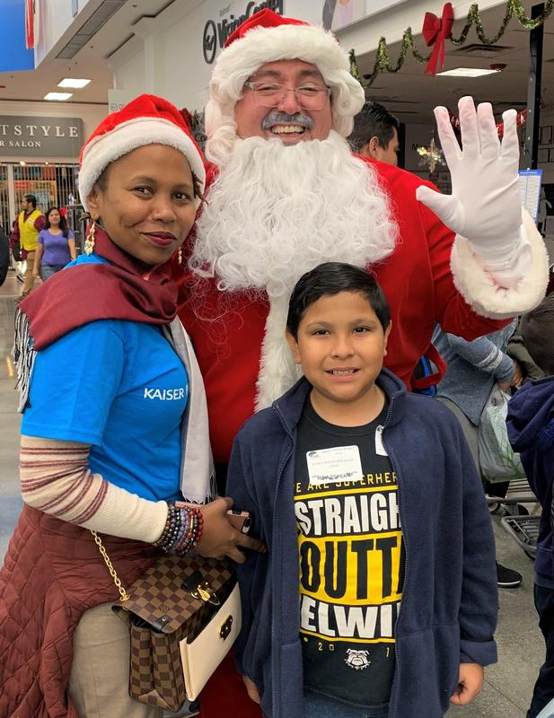 District employees, community volunteers and representatives from local partnerships help BPUSD students pick out new winter attire on Dec. 10 as part of the 23rd annual Santa Clothes Project.