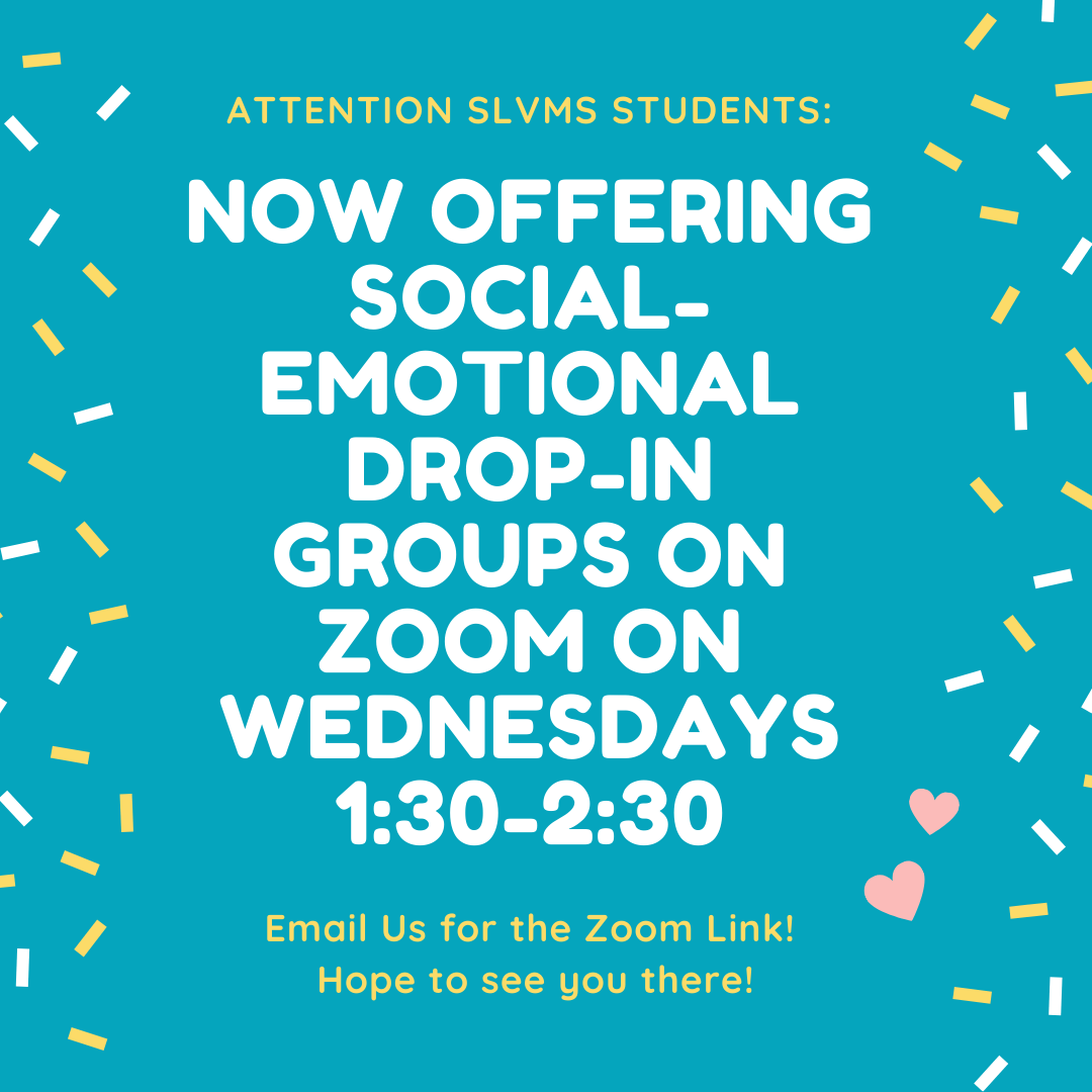 Social-Emotional Drop-In Groups