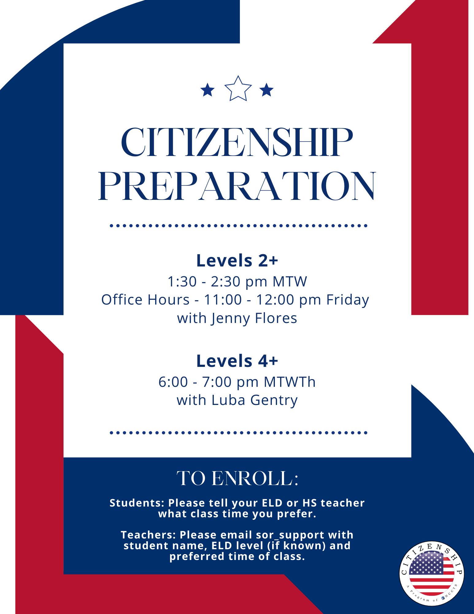 Citizenship Flyer