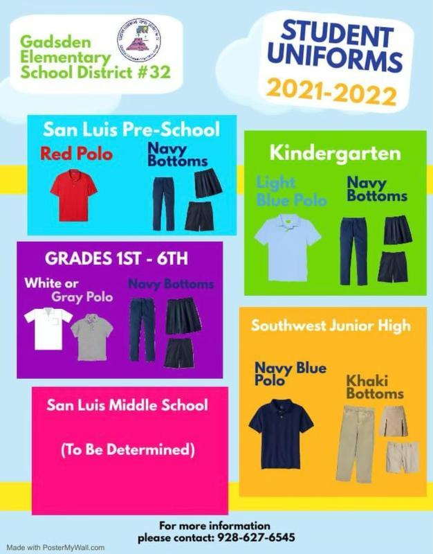 Uniforms 2021- 2022 Featured Photo