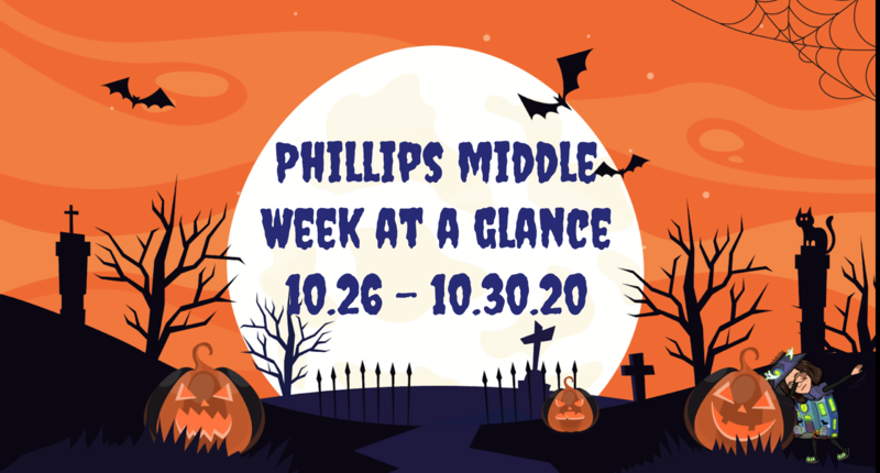 Week at a Glance: Week of October 26, 2020 Featured Photo