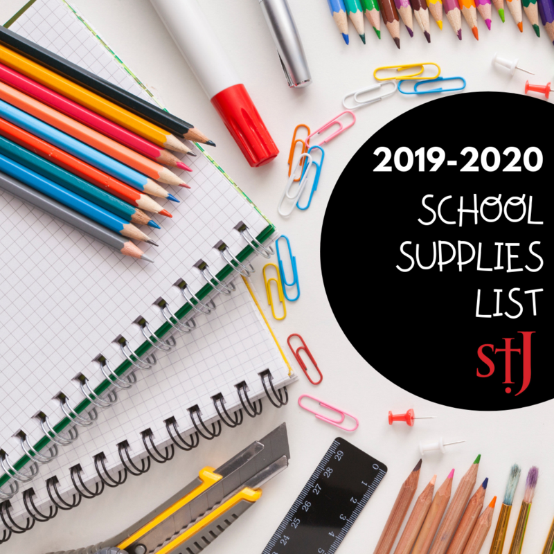 2019 - 2020 School Supplies Featured Photo