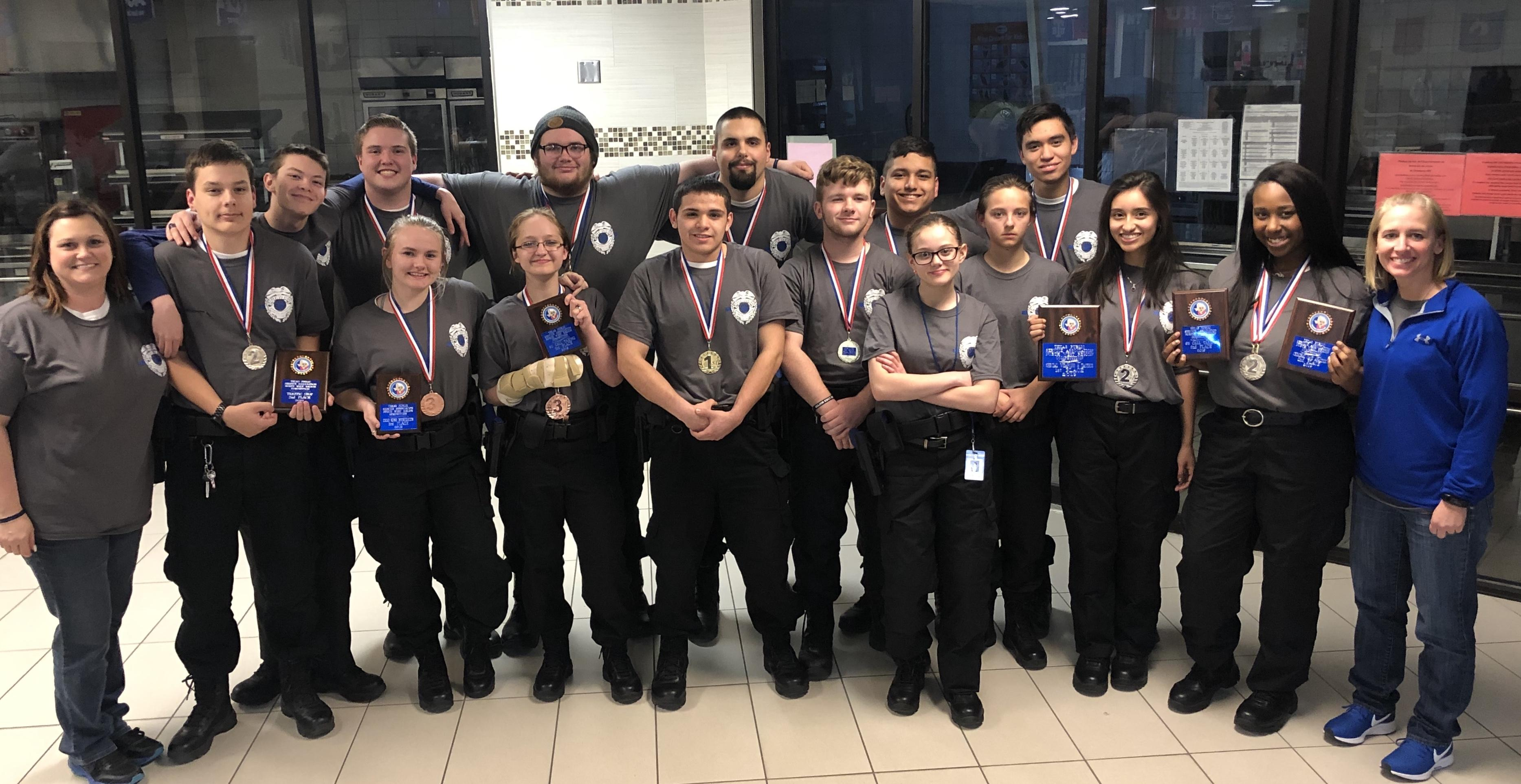 For the third consecutive year, Brewer High School Law Enforcement students will advance to the state competition.