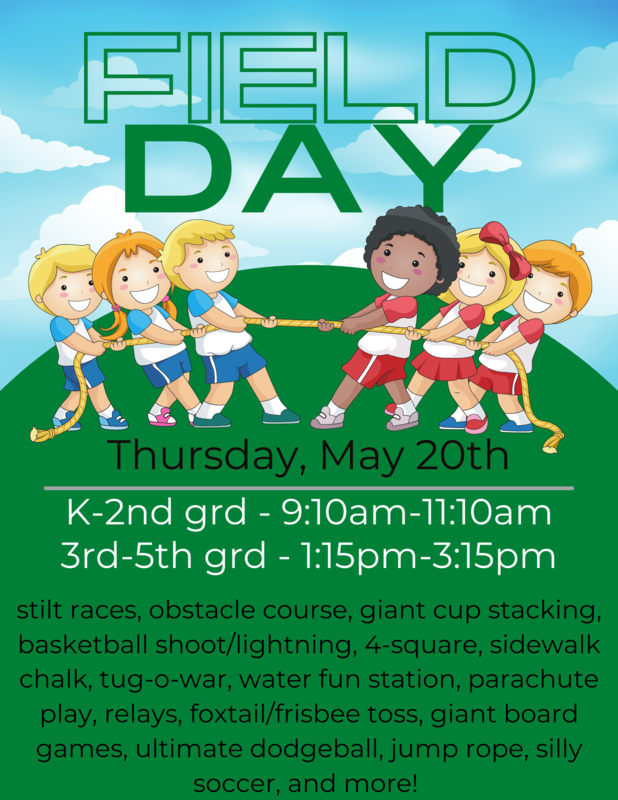 Field Day is May 20