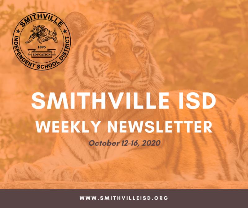 SISD Weekly Newsletter Oct. 12