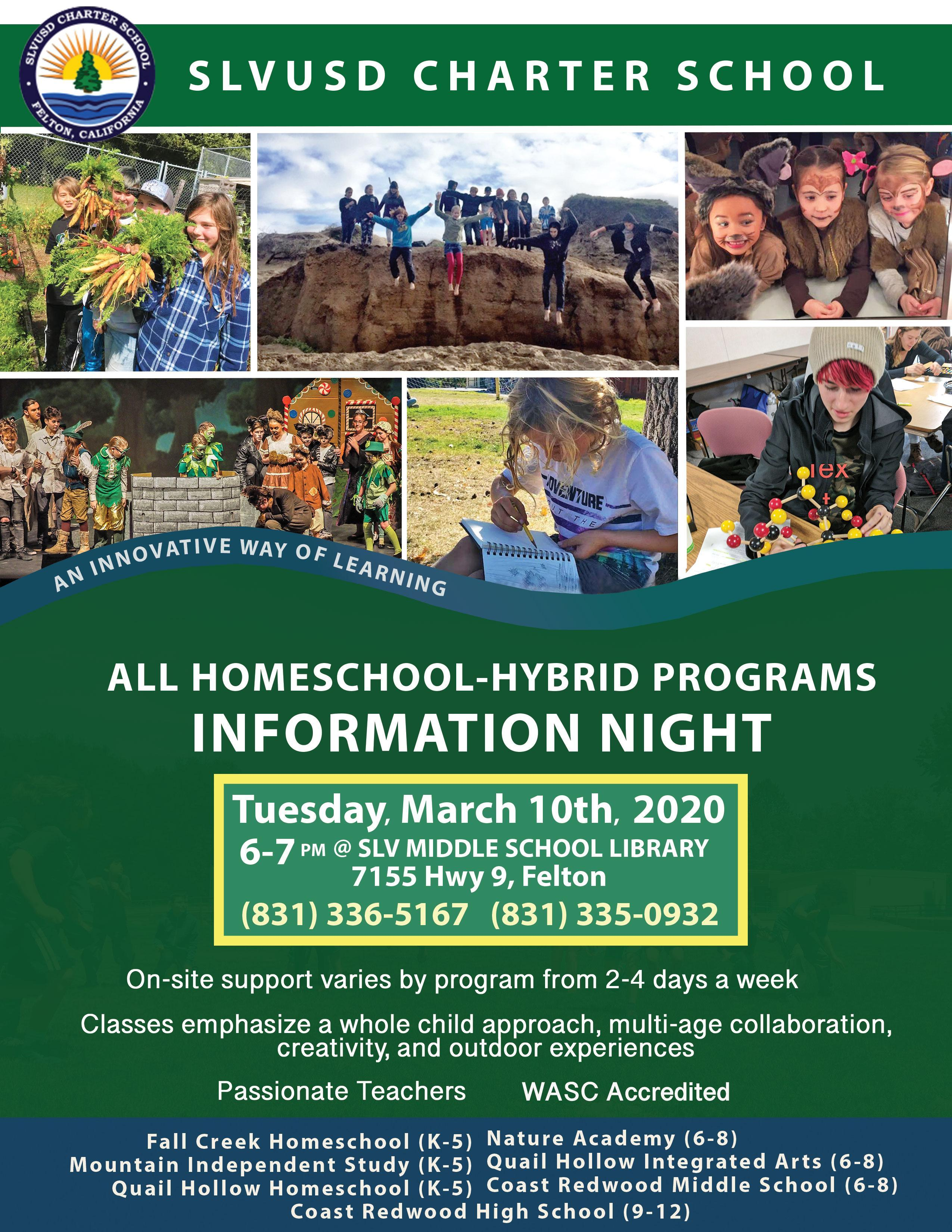 Homeschool Information Night