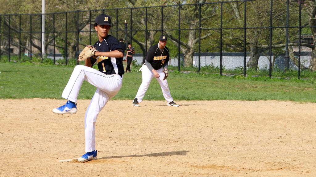 pitcher pitching