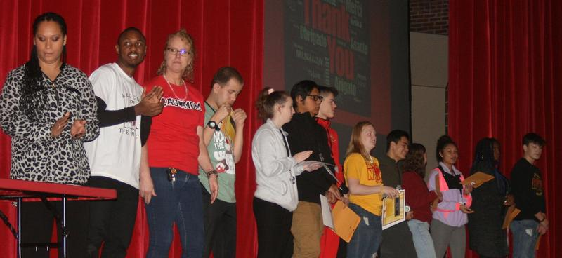 Rocky Pride Awards Recognizes 40 Outstanding Students Featured Photo