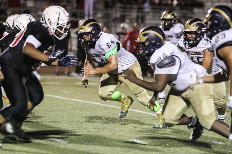 The Bulldogs Fall Short to the Saints Behind a Potent Running Attack Thumbnail Image