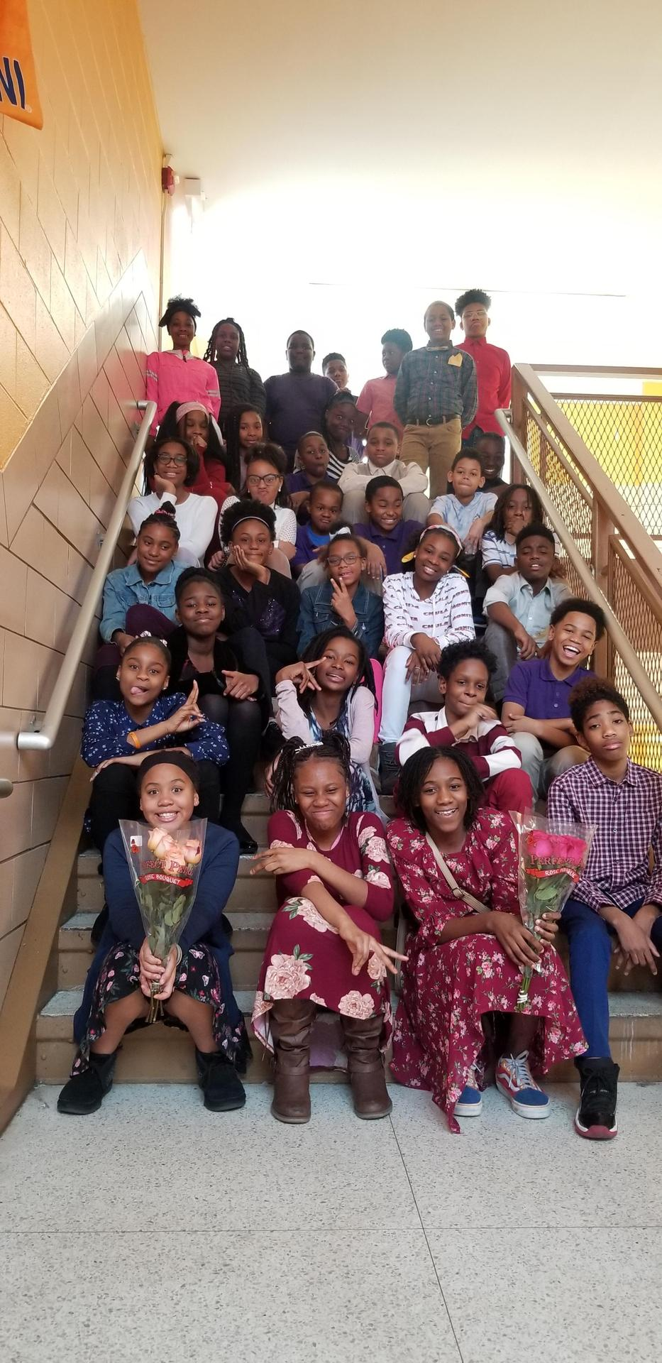 6th Grade Homeroom Class of 2022