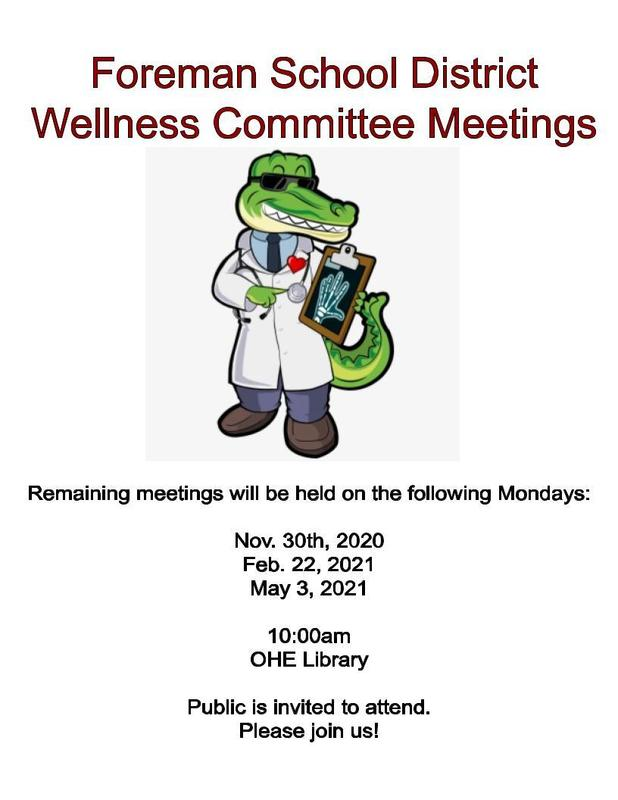 Wellness Meetings announcement
