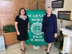 New acting principal and acting vice principal at IWHS