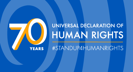 # STAND UP 4 HUMAN RIGHTS      ----2018 Art Contest---- Featured Photo